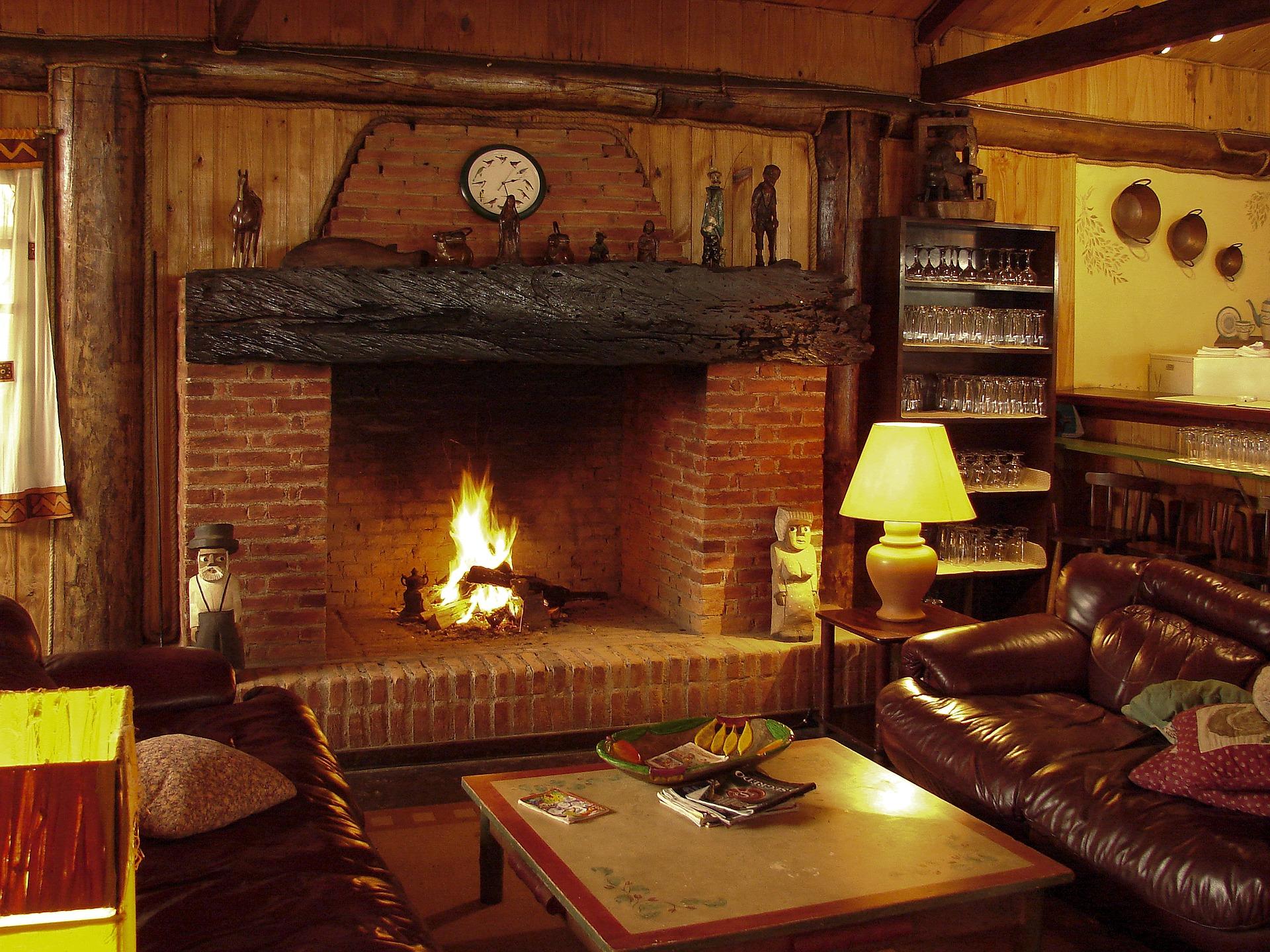 Chauffage au bois cheminée
